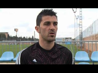 David Villa Interview with subtitles