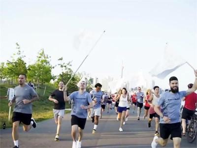 300 Mal die Erde umrundet: adidas vereint Läufer im Kampf gegen Ozeanplastik