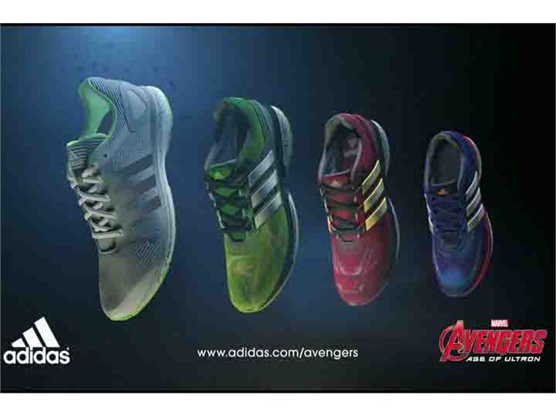 adidas teams up with Marvel's Avengers to launch unique kids