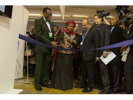 Africa Pavilion at COP21 Opening 3