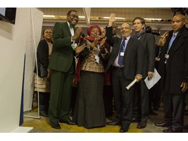 Africa Pavilion at COP21 Opening 14