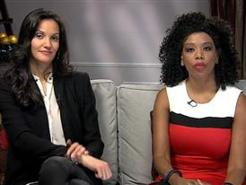 Carolyn Brockington, M.D., and Claudia Mason, Supermodel and Stroke Survivor