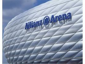 Allianz Arena, daytime