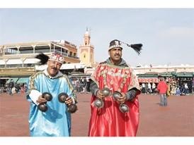 Jamaa el Fna is the central market place in Marrakesh's medina quarter