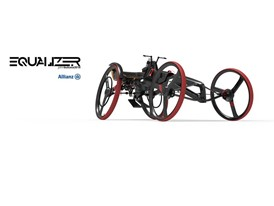 The Equalizer racing wheelchair