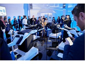 Birdly launch, Allianz Explorer Zone, Paris E-Prix