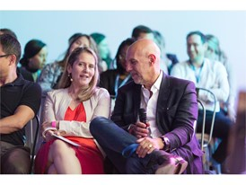 Paola Antonelli MoMA and Jean-Marc Pailhol Allianz