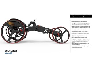 The Equalizer racing wheelchair  2