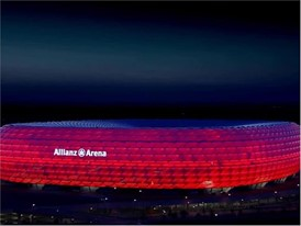 Allianz Arena Bayern Munich Stadium