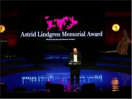 ALMA award: soundbite Wolf Erlbruch acceptance speech