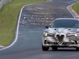 Alfa Romeo Stelvio Quadrifoglio Nürburgring Record lap time