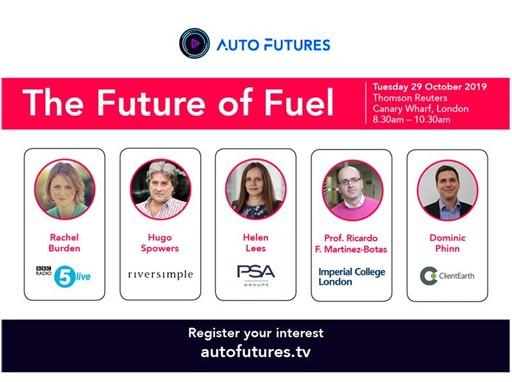 Auto Futures Live panellists