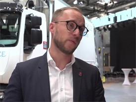Interview in English with François Savoye, Energy Efficiency Strategy Director, Renault Trucks