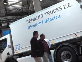 Foootage of Renault Trucks at the 67th IAA Commercial Vehicles