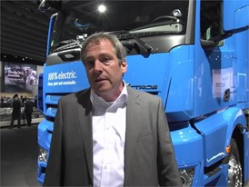 Interview in English with Martin Zeilinger, Head of Advanced Engineering Daimler Trucks