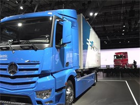 Footage Daimler at 67th IAA Commercial Vehicles