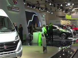 Footage FCA Fiat Chrysler Automobiles at 67th IAA Commercial Vehicles