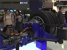 Footage at the booth of Ziehl Abegg at the 67th IAA Commercial Vehicles