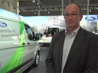 Interview with Marc Harvey, Director Commercial Mobility Vehicle Solutions Europe, Ford Smart Mobility UK