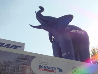 Footage Schmitz Cargobull at the 67th IAA Commercial Vehicles