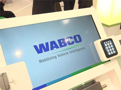 Footage WABCO at the 67th IAA Comemrcial Vehicles, Hanvoer, Germany