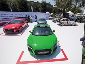 The Quail Audi Sport Stand