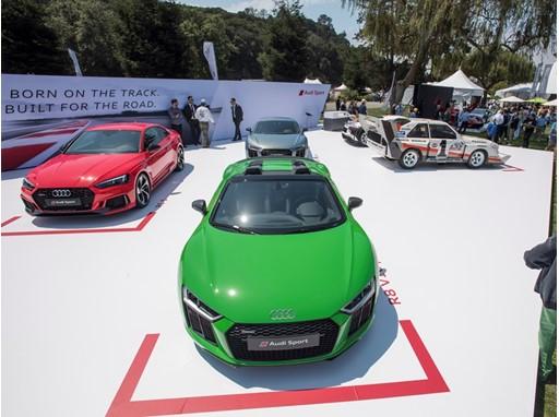 Thenewsmarketcom Audi Sport At The Monterey Car Week - Monterey audi