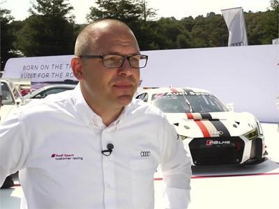 Chris Reinke, Head of Audi Sport Customer Racing - English