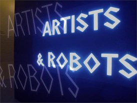ARTISTS and ROBOTS Exhibition at the ASTANA Contemporary Art Center