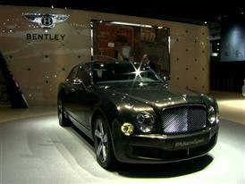 Bentley Detroit Auto Show 2015 B-Roll