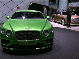 Bentley Geneva Motor Show 2015 Press Conference