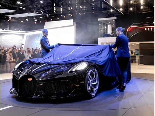 Unveiling Bugatti's La Voiture Noire