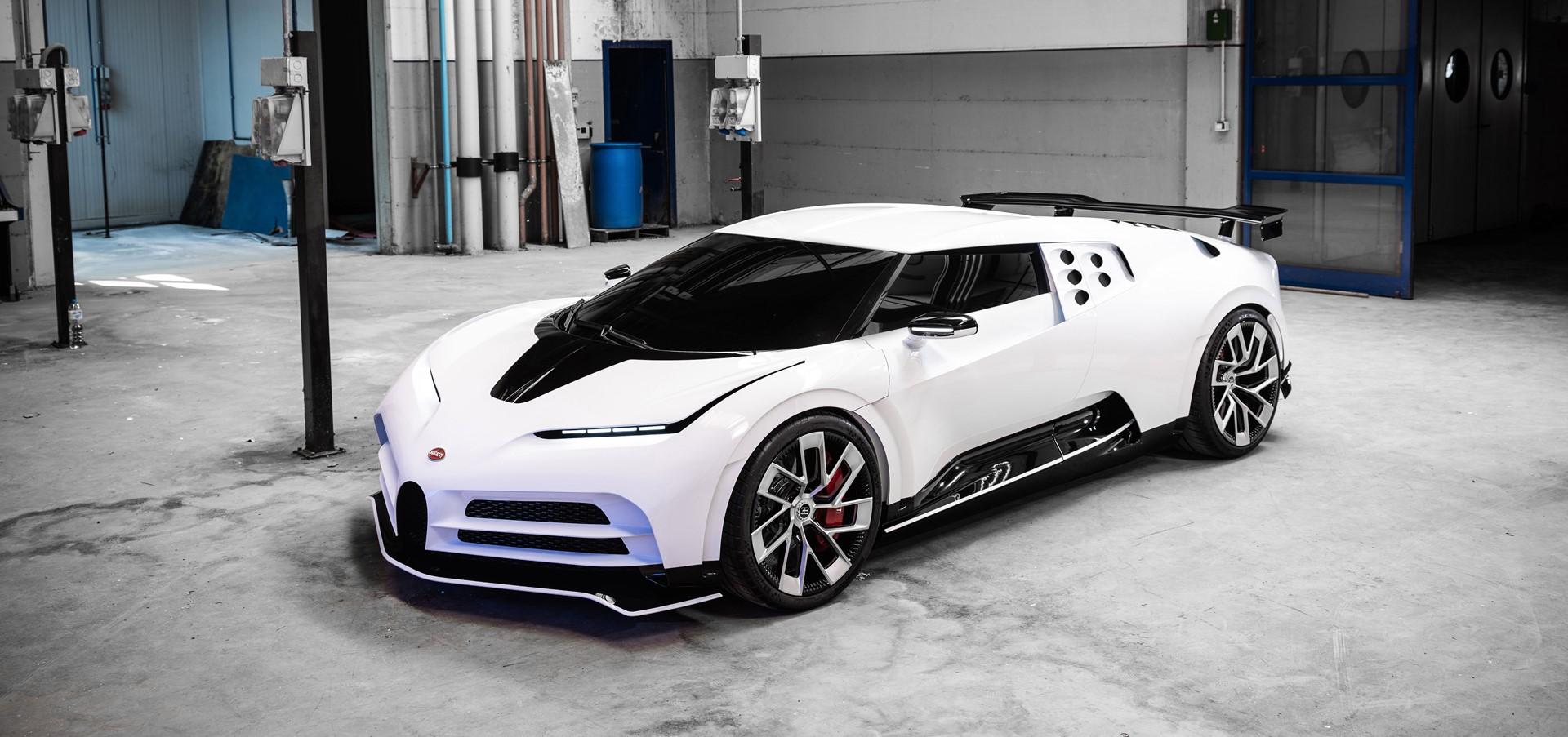 Bugatti Centodieci – Exclusive small series in extraordinary
