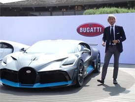 Bugatti Divo world premiere at the Quail