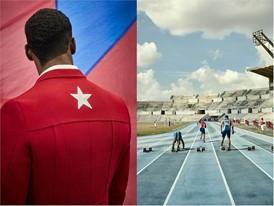 Cuban Team athlete Reidis Ramos Berroa in Christian Louboutin X SportyHenri.com, Cuba © Rene Habermacher