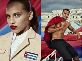 Dovelis Elena Torres Herrero and competing athlete Manuel Alejandro Gonzales Conde in Havana © Rene Habermacher