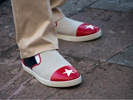 Cuban Delegation Celebratory Outfit, Naza Loafer