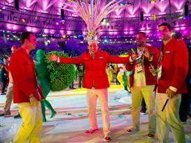 Christian Louboutin & SportyHenri.com Cuban Delegation Outfits Closing Ceremony Rio 2016 alexferro (15)