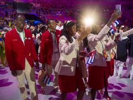 Christian Louboutin & SportyHenri.com Cuban Delegation Outfits Closing Ceremony Rio 2016 alexferro (16)