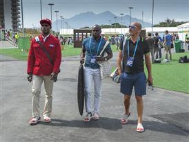 Julio César La Cruz, Henri Tai & Christian Louboutin Olympic Village -Rio 2016 -¬ Renata Mello-Tyba-0865 (1)