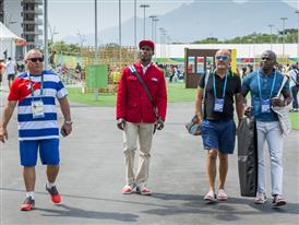 Julio César La Cruz, Christian Louboutin & Henri Tai Olympic Village -Rio 2016 -¬ Renata Mello-Tyba-0865 (2)
