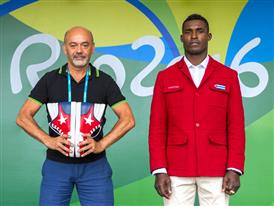 Christian Louboutin & Julio César La Cruz Olympic Village -Rio 2016 -¬ Renata Mello-Tyba-0865 (7)