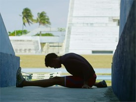 BTS Christian Louboutin X SportyHenri.com for Cuban National Team. Pablo López Paredes ©Macassar Productions. FRE