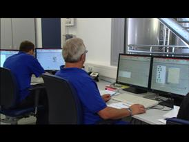 Clariant Bioethanol Pilot Plant Straubing, Germany, Control Room
