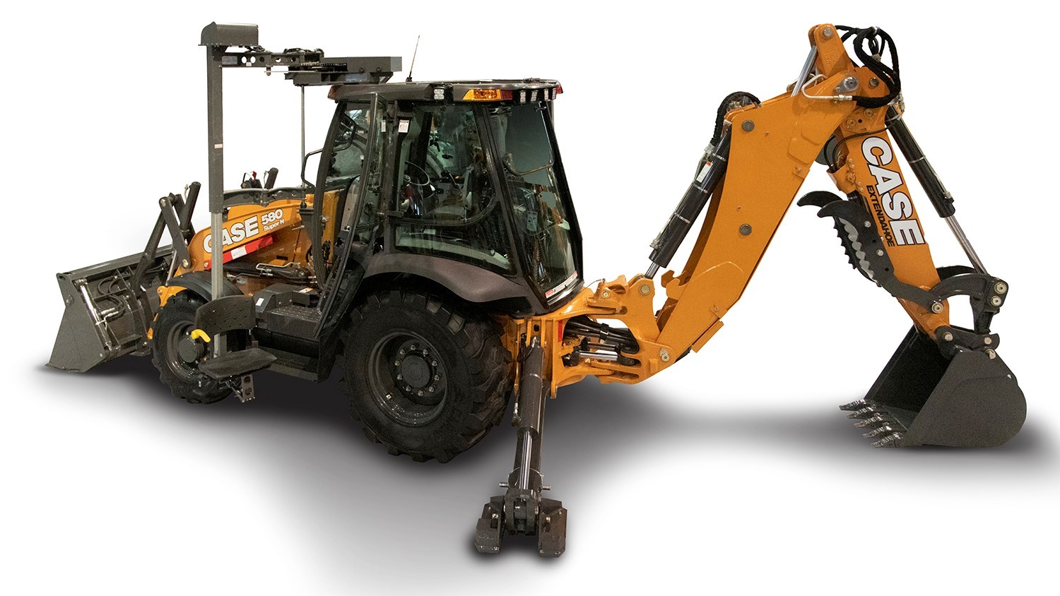 CASE Accessible Backhoe