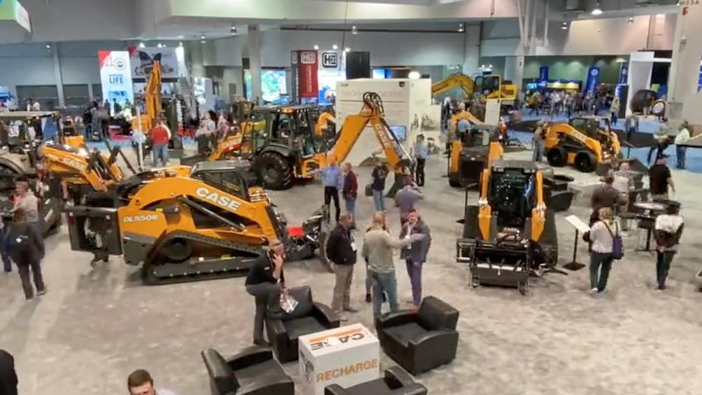 """凯斯""""群星""""闪耀2020美国拉斯维加斯国际工程机械展"""