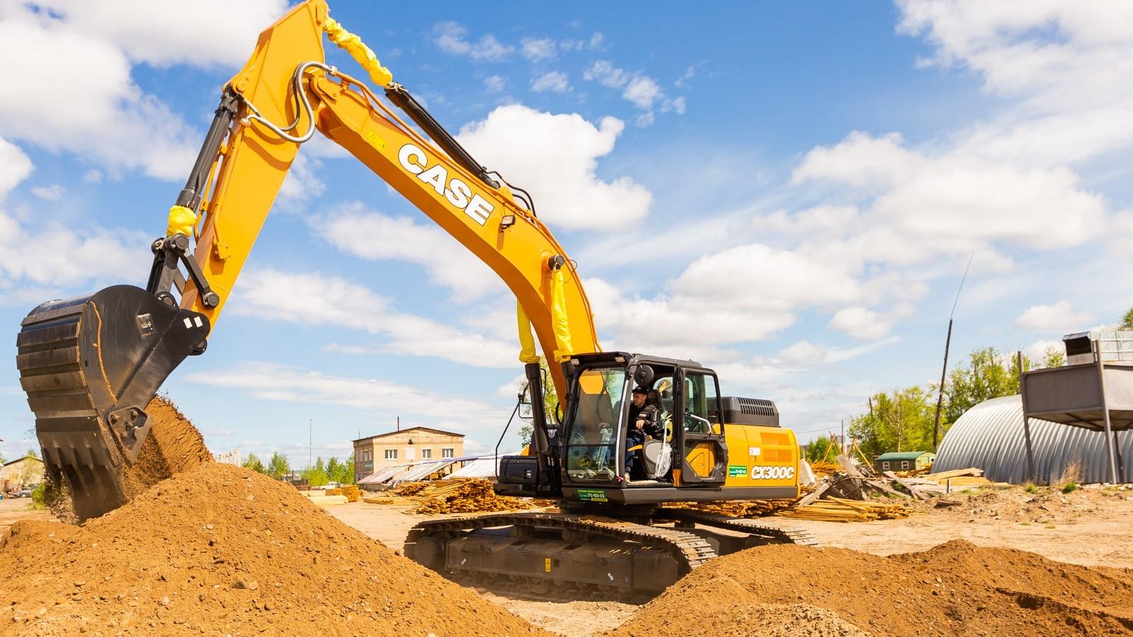 Техника CASE Construction эффективно работает на важнейших объектах Сибири и Дальнего Востока России