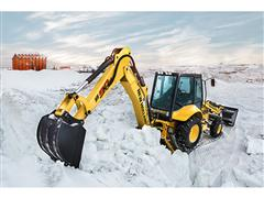 New Holland Construction B90B Conquers The End of The World