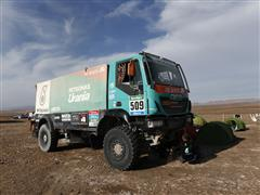 Dakar 2015: Iveco places first and second in stage 11