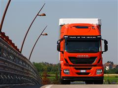 Iveco Stralis LNG Receives European Award for Sustainability in Transport